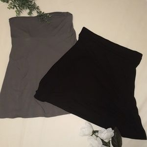 Lot of 2 Old Navy Jersey Skirts